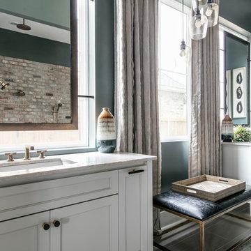 Transitional Master Bedroom/St Jude Home 2019