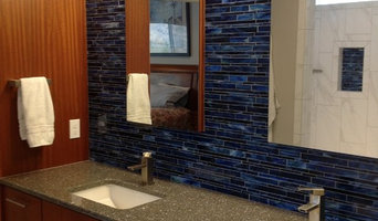 Transitional New Home Master bath