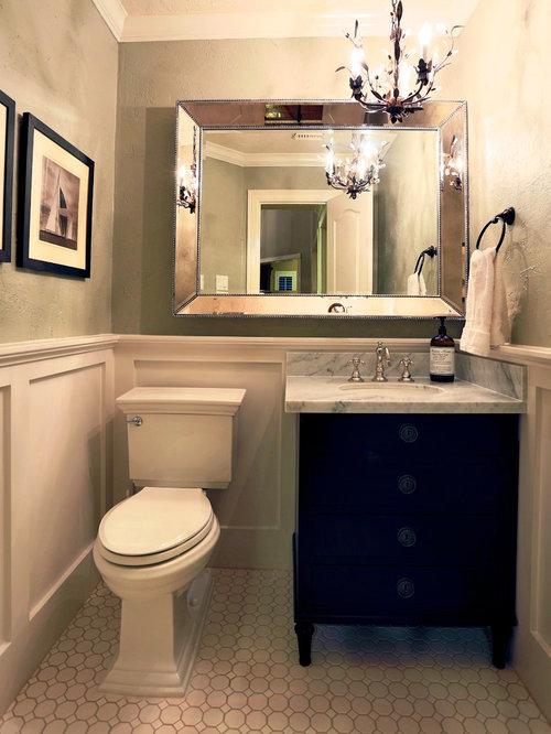 Eclectic 3 4 bathroom design ideas renovations photos - Eclectic bathroom ...