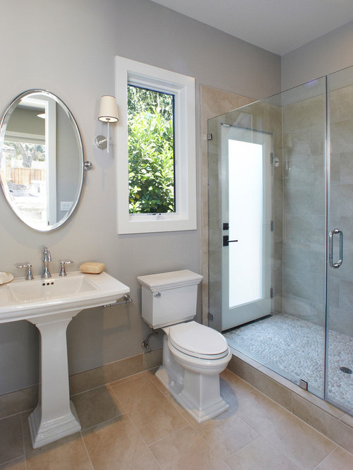 Walk Out Shower | Houzz