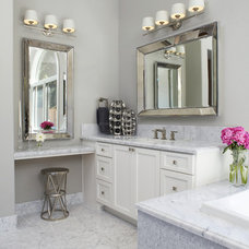 Transitional Bathroom by Fautt Homes Corp