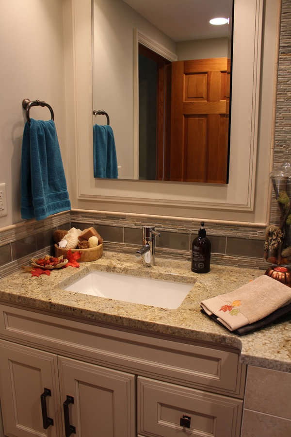 Transitional Small Bath Remodel