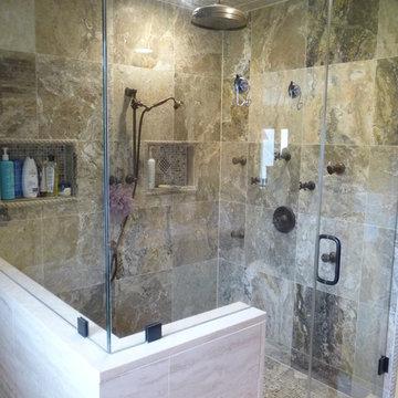 Transitional Spa Bathroom