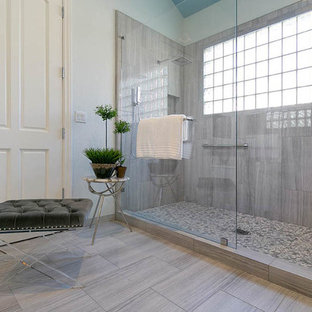 Transitional Spa-Inspired Master Bathroom Remodel