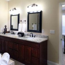 Contemporary Bathroom by Adrienne Elliott Designs