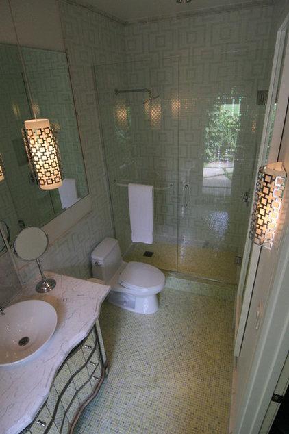 Contemporary Bathroom by Amy Newman Lauffer, CID, LEED AP
