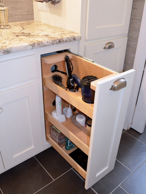 Bathroom Hair Dryer Drawer Ideas, Pictures, Remodel and Decor