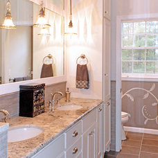 Traditional Bathroom by Kustom Home Design