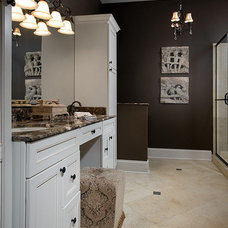 Transitional Bathroom by Interiors by Mary Susan