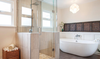 Transitional Walk in Shower