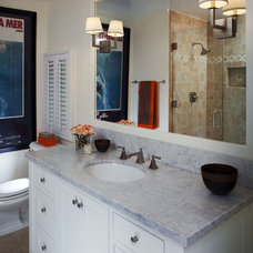Traditional Bathroom by Suzie Parkinson SÜZA DESIGN