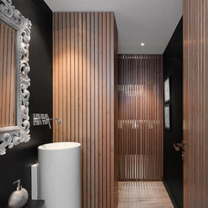 Modern Bathroom by Opad