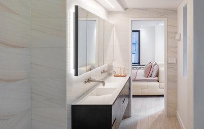 We Can Dream: Minimalist Luxury for a Manhattan Bath
