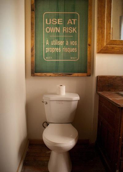 ラスティック 浴室 by Lucid Interior Design Inc.