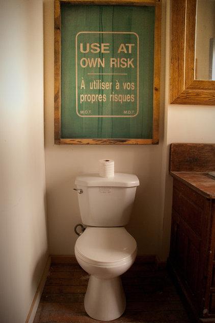 toilet humour: funny bathroom design ideas