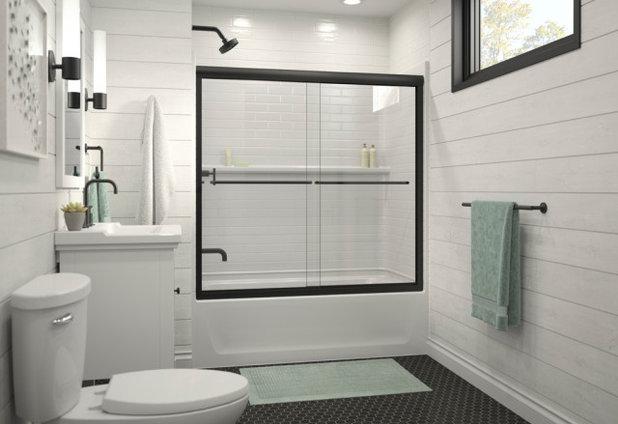 Bathroom Traverse shower enclosure by Sterling