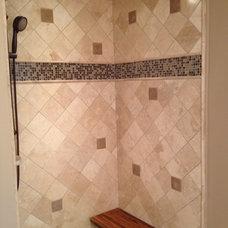 Contemporary Bathroom by Fowler Tile Design