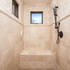 Traditional Bathroom by Mountain Creek Homes