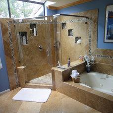 Modern Bathroom by Pagenkopp Construction Company