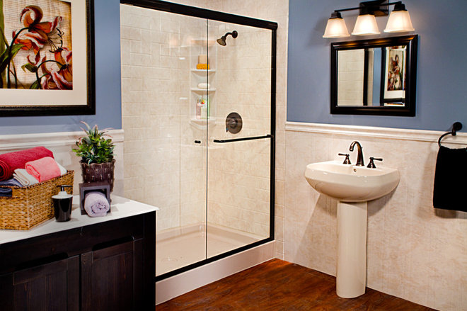 Traditional Bathroom by Improveit! Home Remodeling