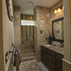 Traditional Bathroom by T-Square Company