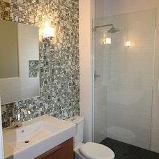 Modern Bathroom by Quality Renovations