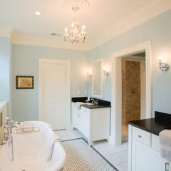 traditional bathroom by WaterMark Coastal Homes, LLC