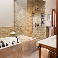 Traditional Bathroom by WEST ELEVATION ARCHITECTS INC