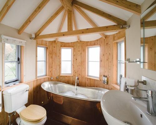 Tree house interior houzz - Tree house bathroom ...