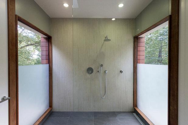 Contemporary Bathroom by Gardner Architects LLC