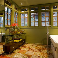 Contemporary Bathroom by Thomas Lawton Architect