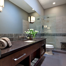 Traditional Bathroom by Shoberg Custom Homes