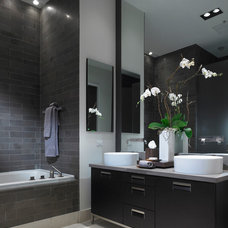 Contemporary Bathroom by Stone Source