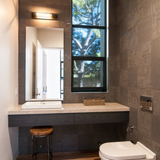 Modern Bathroom by KW Designs