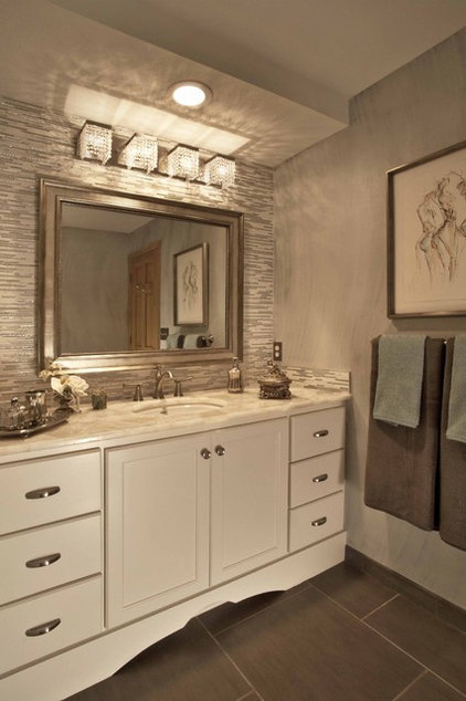 Traditional Bathroom by Metro Interiors