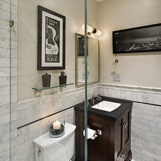 Traditional Bathroom by TRG Architects