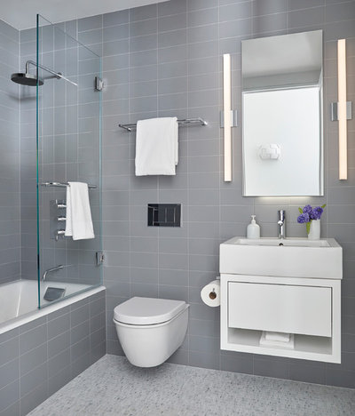 Trend Contemporary Bathroom by Darci Hether New York