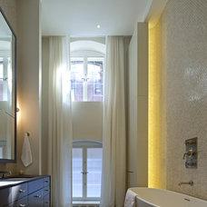 Modern Bathroom by David Howell Design