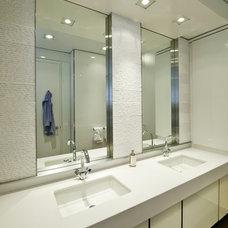 Traditional Bathroom by Mojo Stumer Associates, pc.