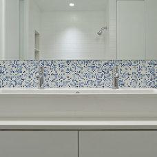 Modern Bathroom by nC2 architecture llc