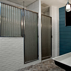 Industrial Bathroom by threshold interiors