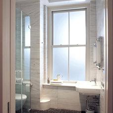 Modern Bathroom by Warren Red