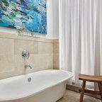 Tribeca Penthouse Contemporary Living Room New York