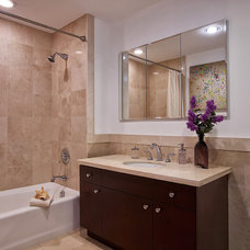 Contemporary Bathroom by Marie Burgos Design