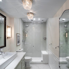 Traditional Bathroom by Ofer Wolberger, LTD.
