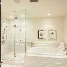 Contemporary Bathroom by Meredith Heron Design
