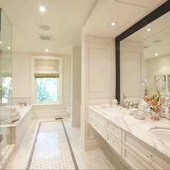 contemporary bathroom by Meredith Heron