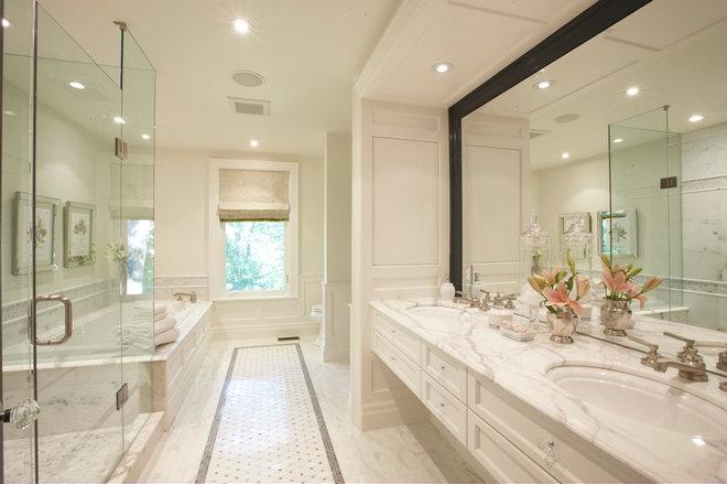 Contemporary Bathroom by Meredith Heron Design