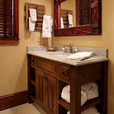Traditional Bathroom by Keystone Kitchen & Bath