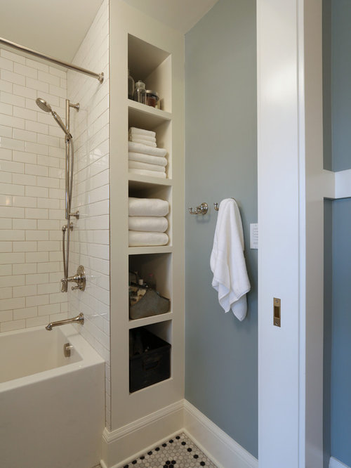 300 Portland Bathroom And Cloakroom With Metro Tiles